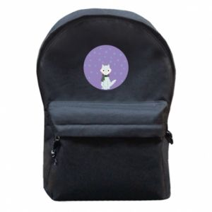 Backpack with front pocket Fox