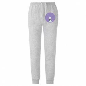 Męskie spodnie lekkie Fox - PrintSalon