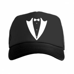 Trucker hat Tailcoat for New Year's Eve