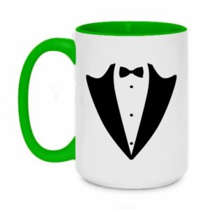 Two-toned mug 450ml Tailcoat for New Year's Eve