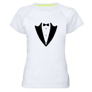 Women's sports t-shirt Tailcoat for New Year's Eve