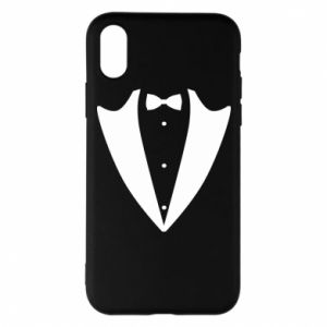 Phone case for iPhone X/Xs Tailcoat for New Year's Eve