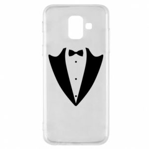 Phone case for Samsung A6 2018 Tailcoat for New Year's Eve