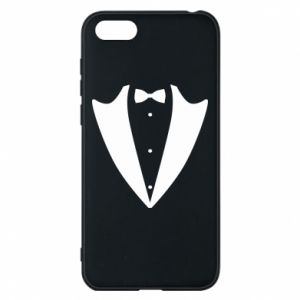 Phone case for Huawei Y5 2018 Tailcoat for New Year's Eve
