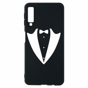 Phone case for Samsung A7 2018 Tailcoat for New Year's Eve