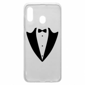 Phone case for Samsung A20 Tailcoat for New Year's Eve