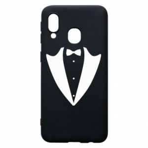 Phone case for Samsung A40 Tailcoat for New Year's Eve