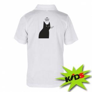 Children's Polo shirts Freakin' meowt