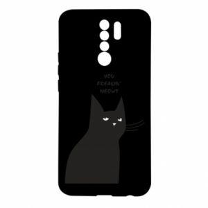 Xiaomi Redmi 9 Case Freakin' meowt