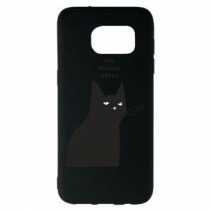 Etui na Samsung S7 EDGE Freakin' meowt