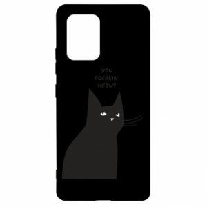 Etui na Samsung S10 Lite Freakin' meowt