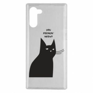 Etui na Samsung Note 10 Freakin' meowt