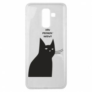 Etui na Samsung J8 2018 Freakin' meowt