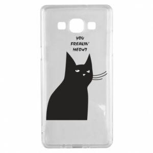 Etui na Samsung A5 2015 Freakin' meowt