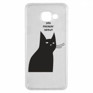 Etui na Samsung A3 2016 Freakin' meowt