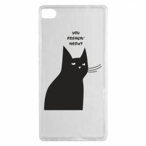 Etui na Huawei P8 Freakin' meowt