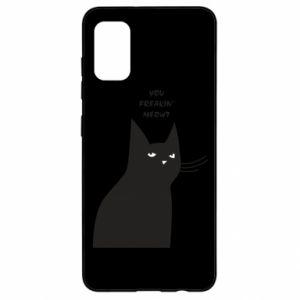 Etui na Samsung A41 Freakin' meowt