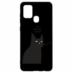 Etui na Samsung A21s Freakin' meowt