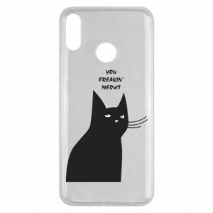 Etui na Huawei Y9 2019 Freakin' meowt