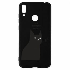 Etui na Huawei Y7 2019 Freakin' meowt
