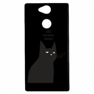 Etui na Sony Xperia XA2 Freakin' meowt