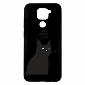 Xiaomi Redmi Note 9 / Redmi 10X case % print% Freakin' meowt