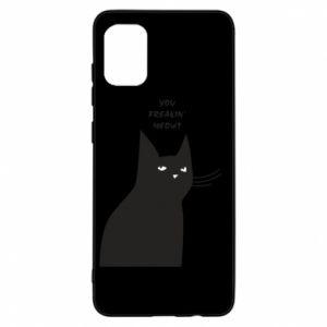 Etui na Samsung A31 Freakin' meowt