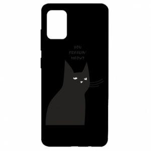 Etui na Samsung A51 Freakin' meowt