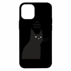 Etui na iPhone 12 Mini Freakin' meowt