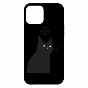 Etui na iPhone 12 Pro Max Freakin' meowt
