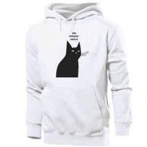 Men's hoodie Freakin' meowt