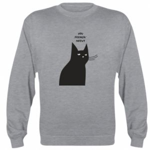Sweatshirt Freakin' meowt