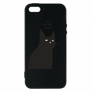 Etui na iPhone 5/5S/SE Freakin' meowt