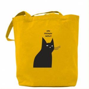 Bag Freakin' meowt