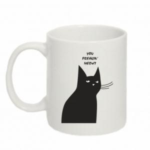 Mug 330ml Freakin' meowt