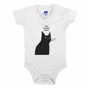 Baby bodysuit Freakin' meowt