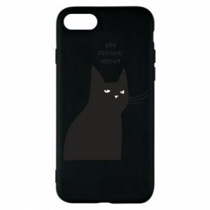 Etui na iPhone 8 Freakin' meowt