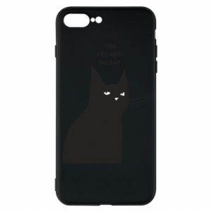 Phone case for iPhone 8 Plus Freakin' meowt