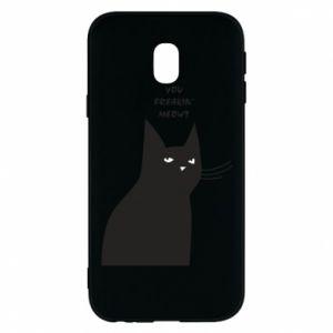 Phone case for Samsung J3 2017 Freakin' meowt
