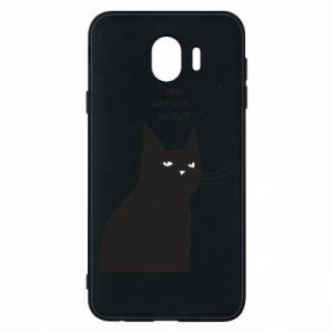 Phone case for Samsung J4 Freakin' meowt