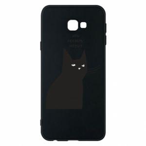 Phone case for Samsung J4 Plus 2018 Freakin' meowt