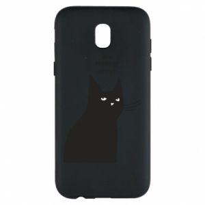Phone case for Samsung J5 2017 Freakin' meowt