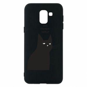 Phone case for Samsung J6 Freakin' meowt