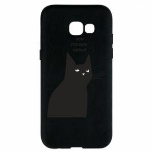 Phone case for Samsung A5 2017 Freakin' meowt