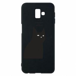 Phone case for Samsung J6 Plus 2018 Freakin' meowt