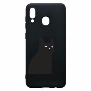 Phone case for Samsung A20 Freakin' meowt