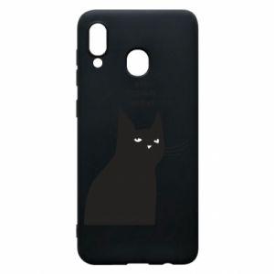 Phone case for Samsung A30 Freakin' meowt