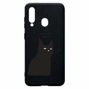 Phone case for Samsung A60 Freakin' meowt