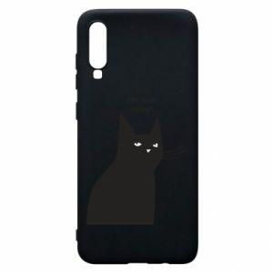 Phone case for Samsung A70 Freakin' meowt