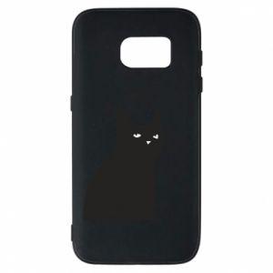 Phone case for Samsung S7 Freakin' meowt